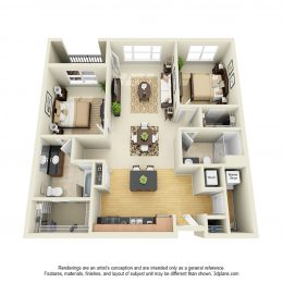 Bell Stonebridge B1 Floor Plan