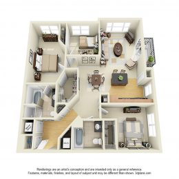 Bell Stonebridge C1 Floor Plan